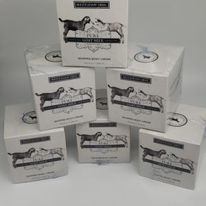 6pc Beekman 1802 Pure Goat Milk Whipped Body Cream